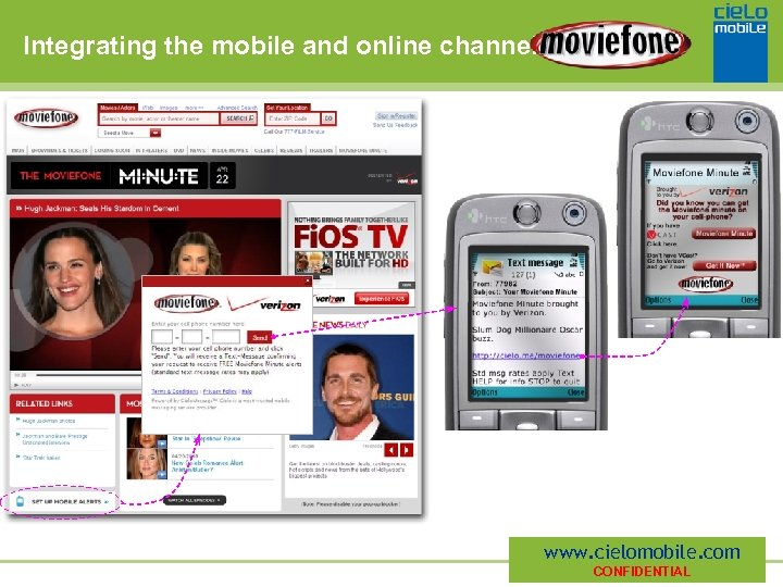 Integrating the mobile and online channels www. cielomobile. com CONFIDENTIAL