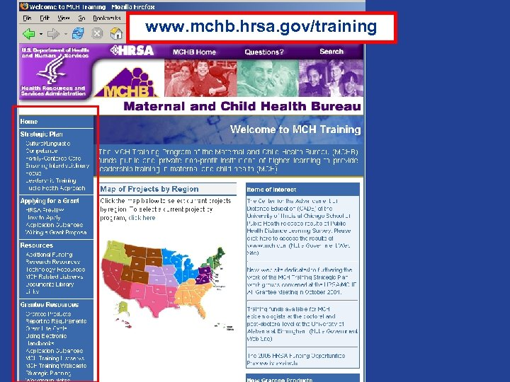 www. mchb. hrsa. gov/training