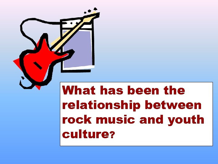 What has been the relationship between rock music and youth culture?