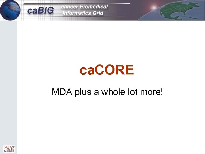 14 ca. CORE MDA plus a whole lot more!