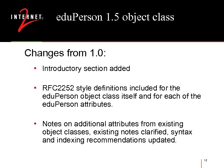 edu. Person 1. 5 object class Changes from 1. 0: • Introductory section added