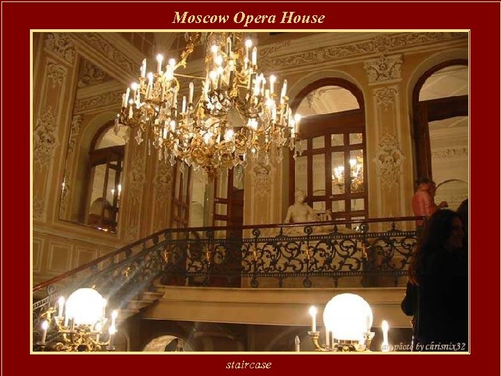 Moscow Opera House staircase