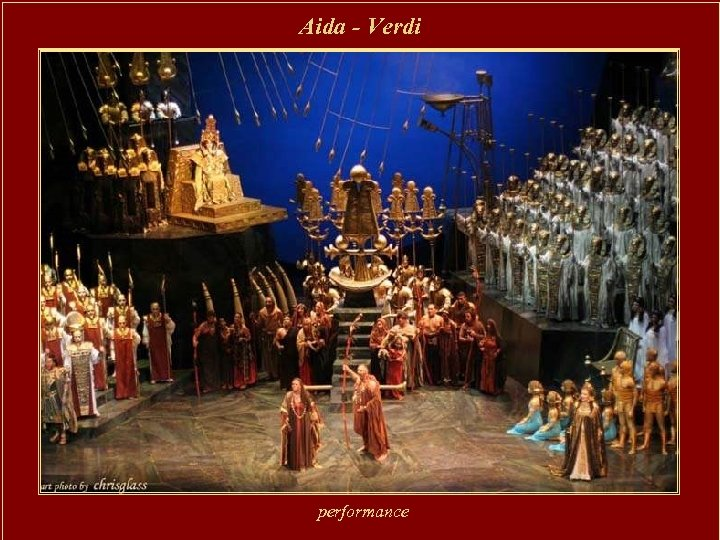 Aida - Verdi performance