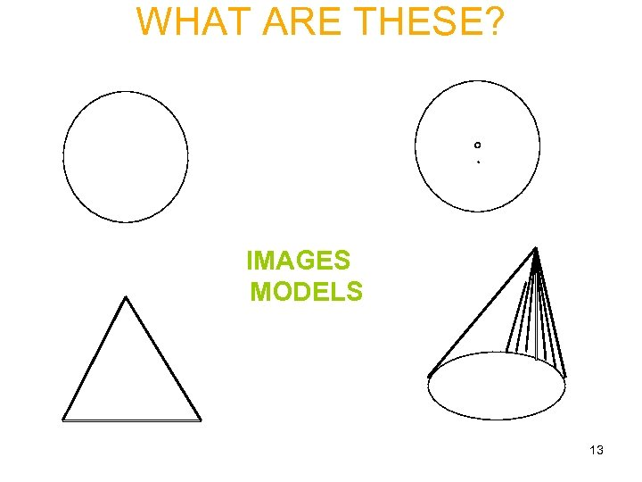 WHAT ARE THESE? IMAGES MODELS 13