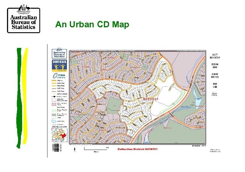 An Urban CD Map