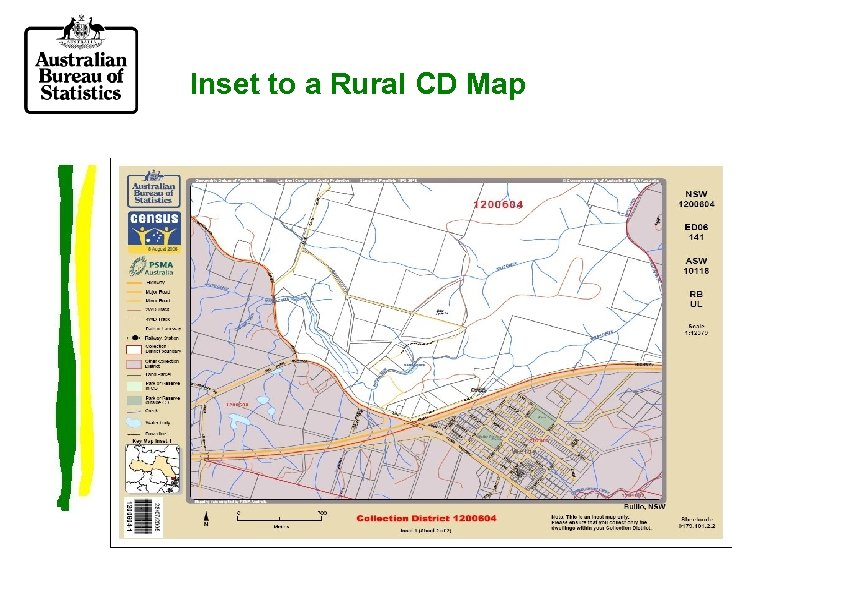 Inset to a Rural CD Map