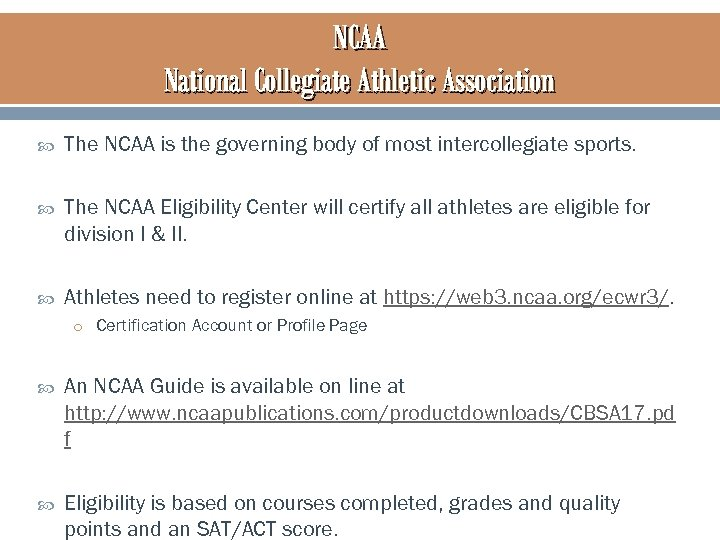 """the in house handling of ncaa rule violation essay On jan 24 the national collegiate athletic association released this statement: """"the ncaa has sent a letter of inquiry to michigan state university regarding potential ncaa rules violations."""