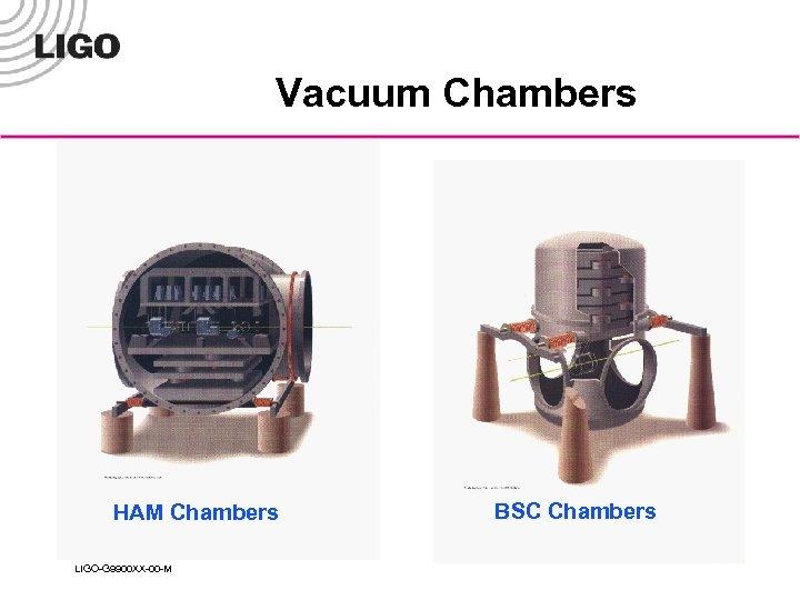Vacuum Chambers HAM Chambers LIGO-G 9900 XX-00 -M BSC Chambers