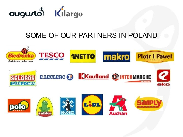 SOME OF OUR PARTNERS IN POLAND