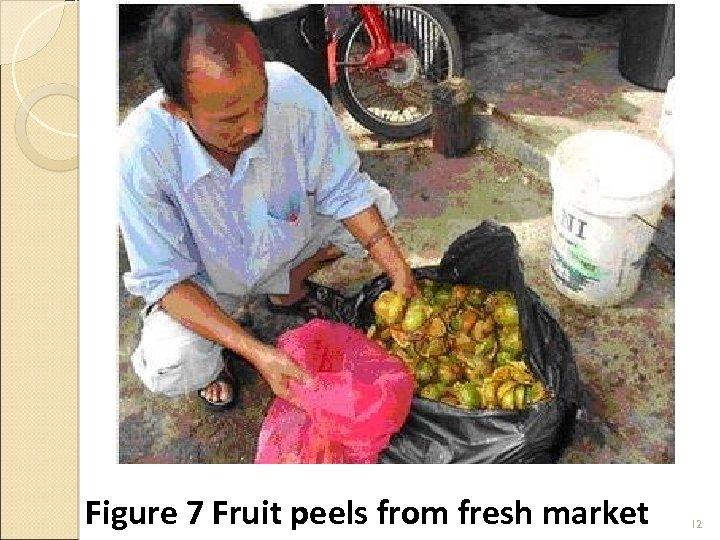 Figure 7 Fruit peels from fresh market 12