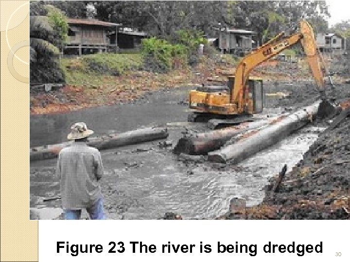 Figure 23 The river is being dredged 30