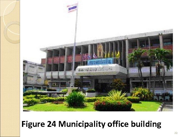 Figure 24 Municipality office building 32