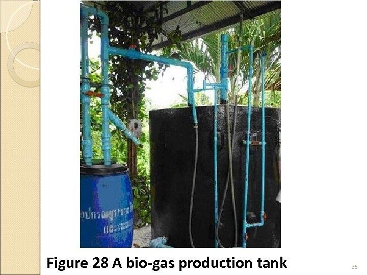 Figure 28 A bio-gas production tank 35