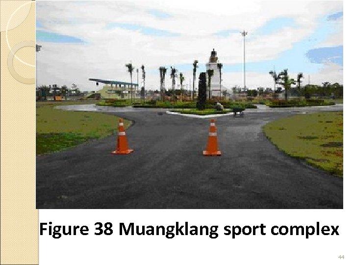 Figure 38 Muangklang sport complex 44