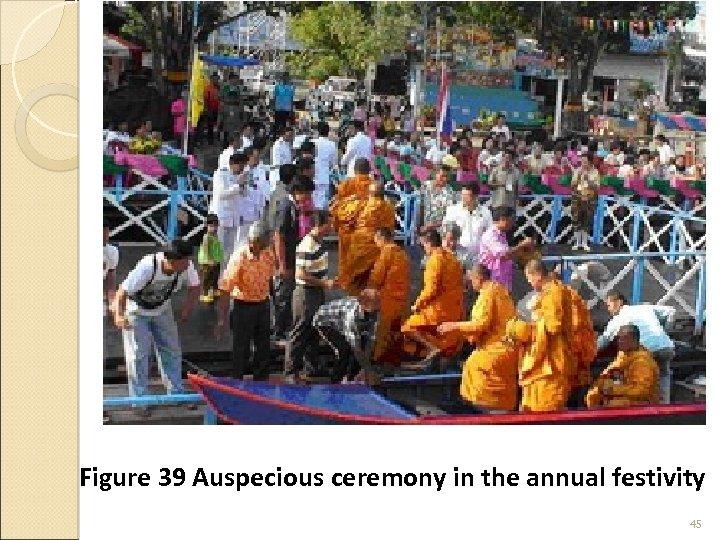 Figure 39 Auspecious ceremony in the annual festivity 45