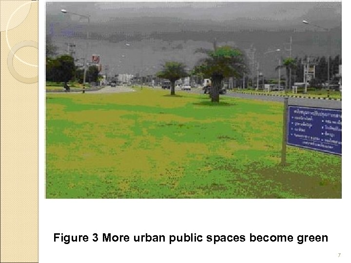 Figure 3 More urban public spaces become green 7