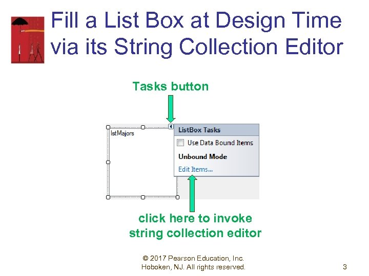Fill a List Box at Design Time via its String Collection Editor Tasks button