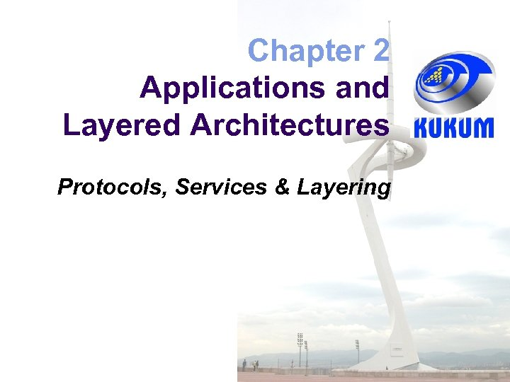Chapter 2 Applications and Layered Architectures Protocols, Services & Layering