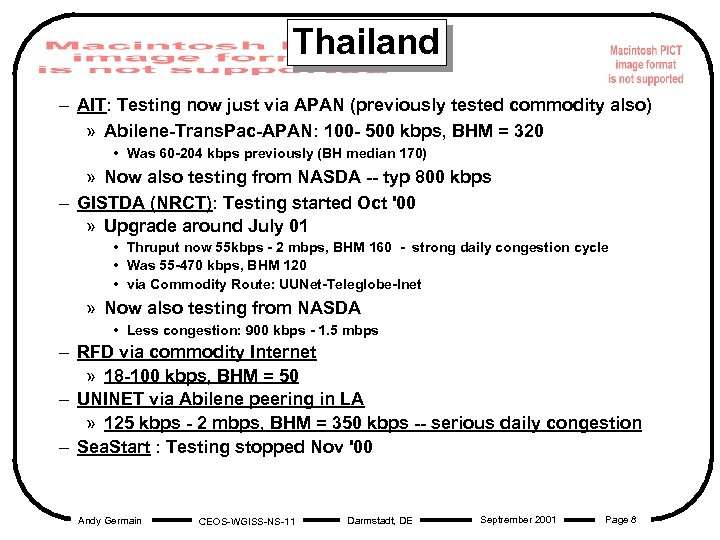 Thailand – AIT: Testing now just via APAN (previously tested commodity also) » Abilene-Trans.