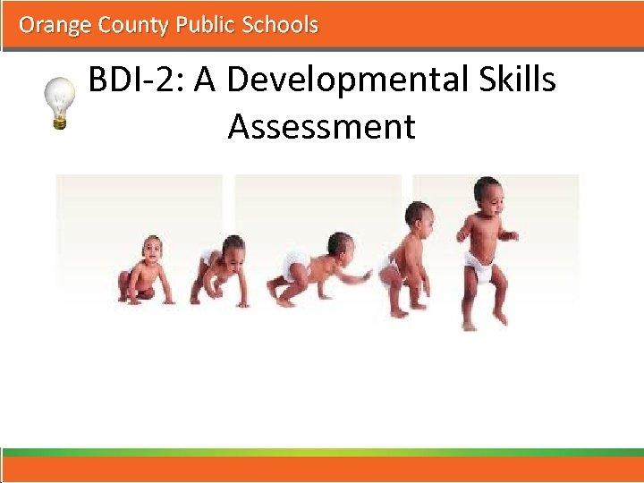 BDI-2: A Developmental Skills Assessment