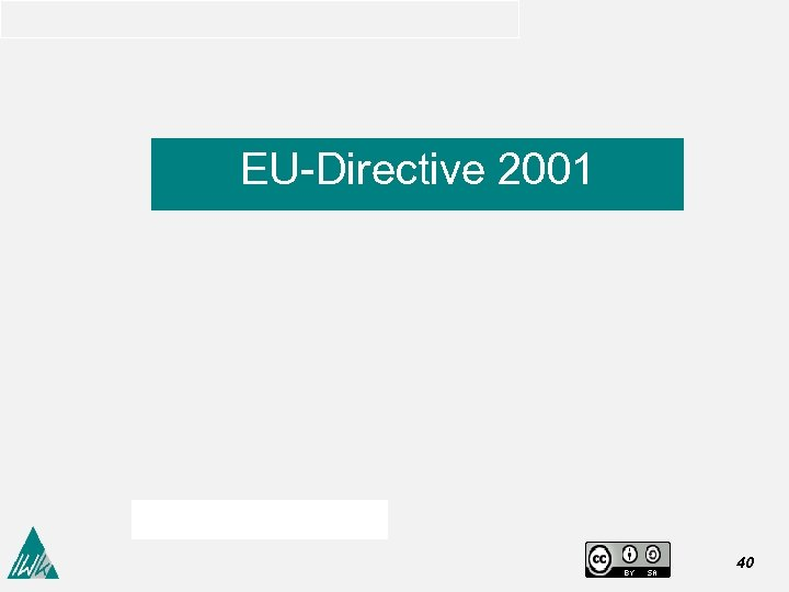 EU-Directive 2001 40