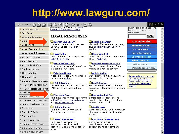 http: //www. lawguru. com/