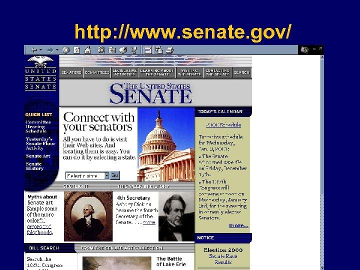 http: //www. senate. gov/