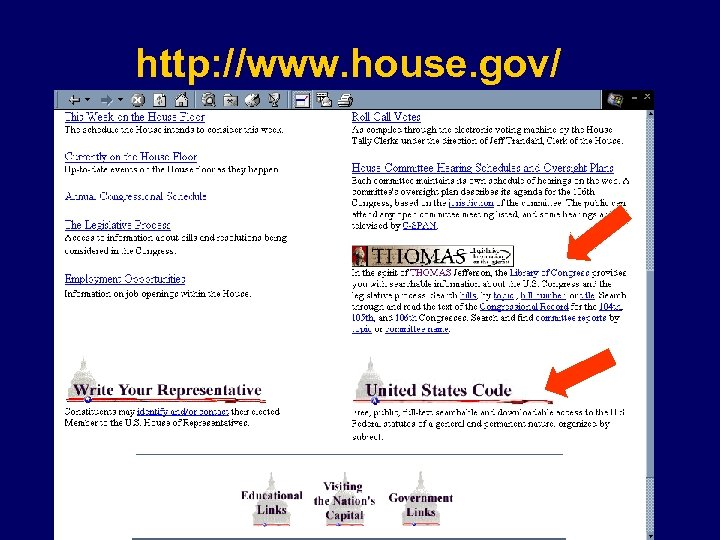 http: //www. house. gov/