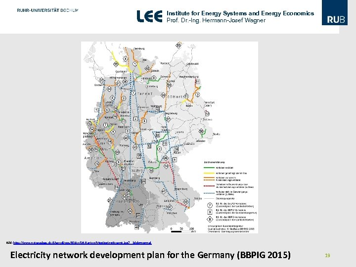 Institute for Energy Systems and Energy Economics Prof. Dr. -Ing. Hermann-Josef Wagner Bild: http: