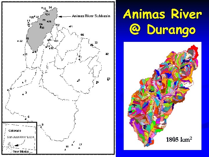 Animas River @ Durango 1805 km 2