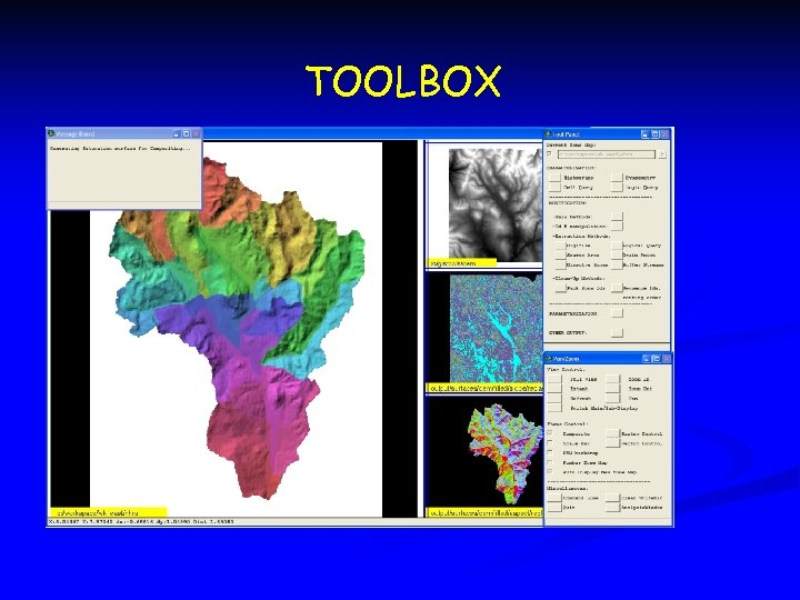 TOOLBOX TOOL PITCH n Parameterizer (GIS Weasel)