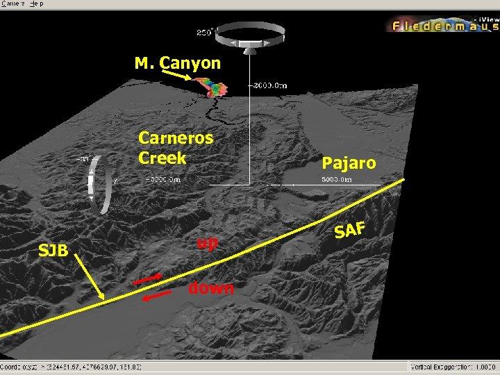 M. Canyon Carneros Creek SJB up down Pajaro SAF