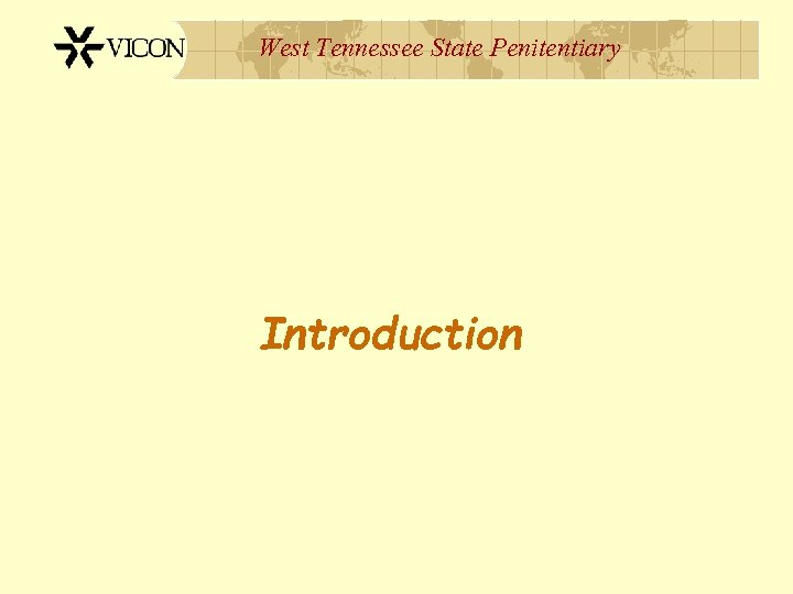 West Tennessee State Penitentiary Introduction