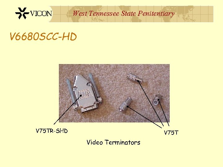 West Tennessee State Penitentiary V 6680 SCC-HD V 75 TR-SHD V 75 T Video