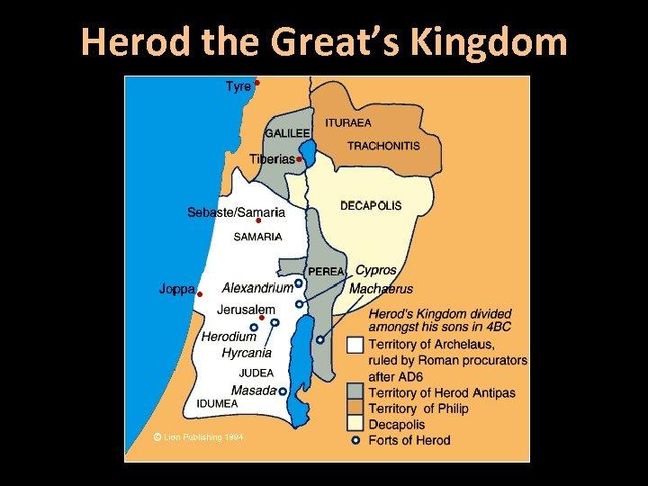Herod the Great's Kingdom