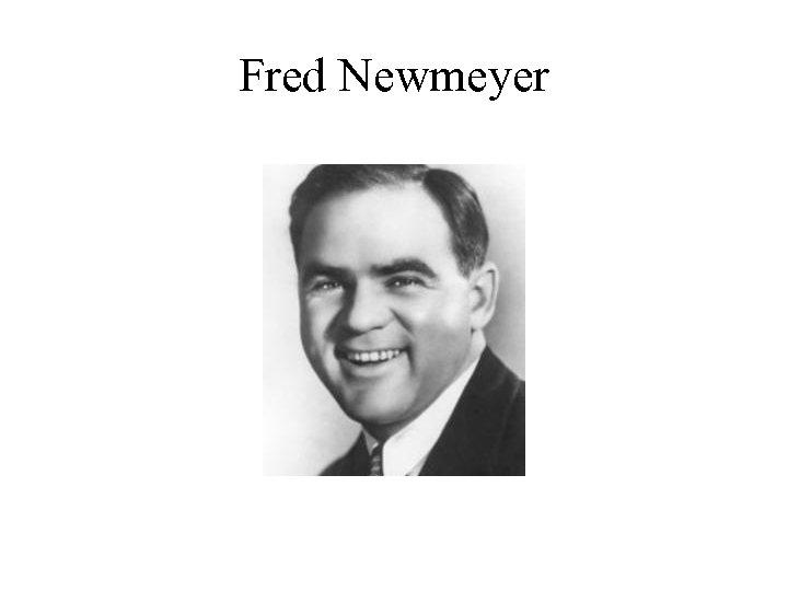Fred Newmeyer