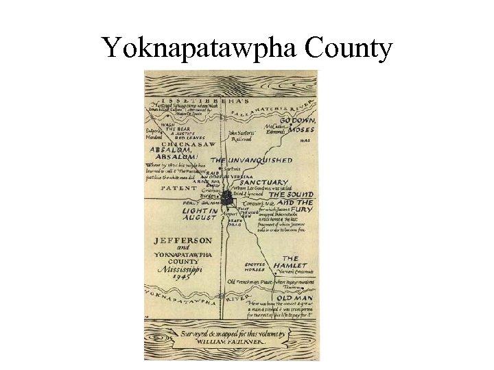 Yoknapatawpha County