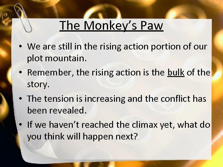 The Monkey s Paw By W W Jacobs