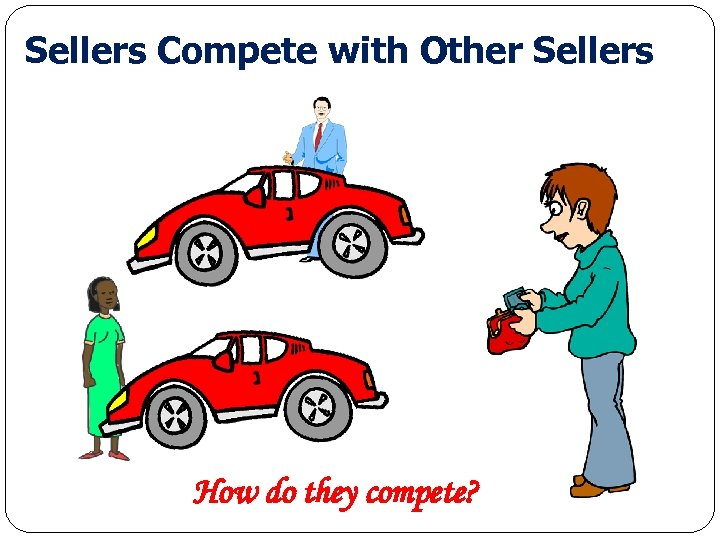 Sellers Compete with Other Sellers How do they compete? Economics for Leaders