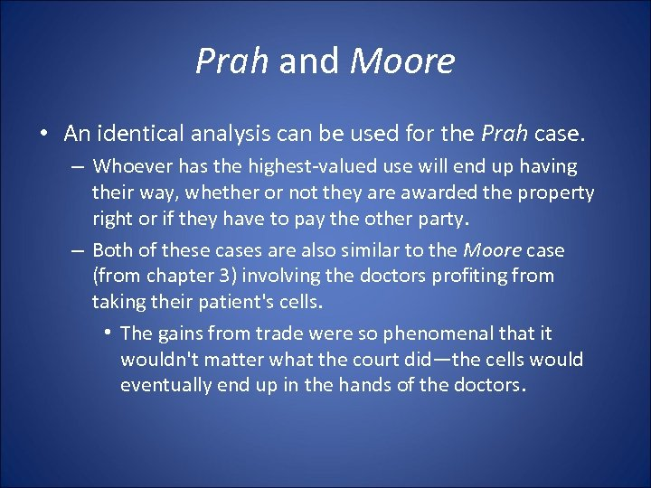 Prah and Moore • An identical analysis can be used for the Prah case.