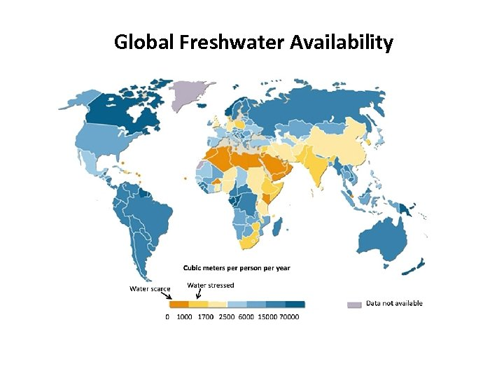 Global Freshwater Availability