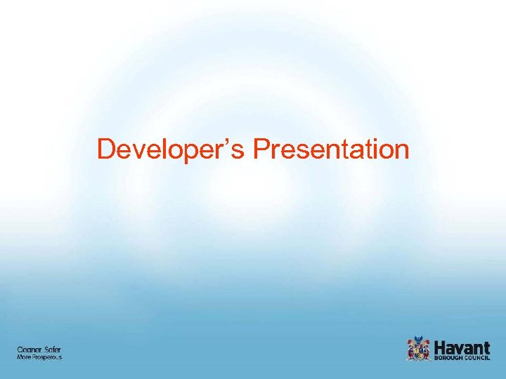 Developer's Presentation