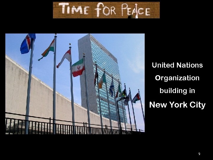 United Nations Organization building in New York City 9