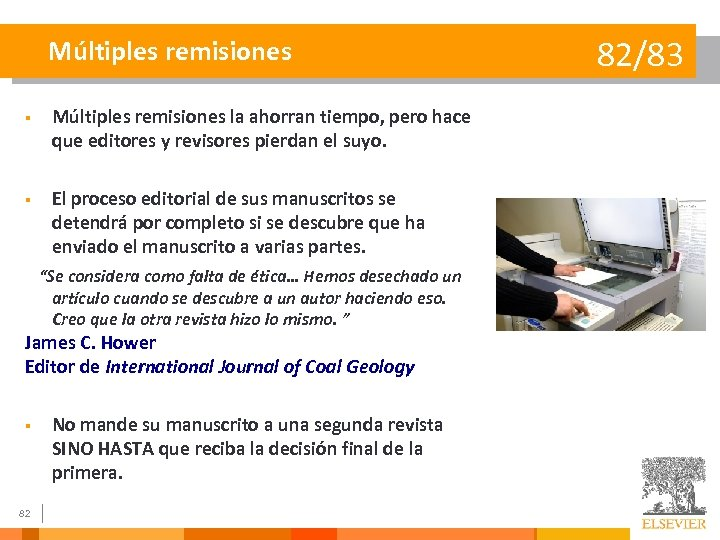 Múltiples remisiones § Múltiples remisiones la ahorran tiempo, pero hace que editores y revisores