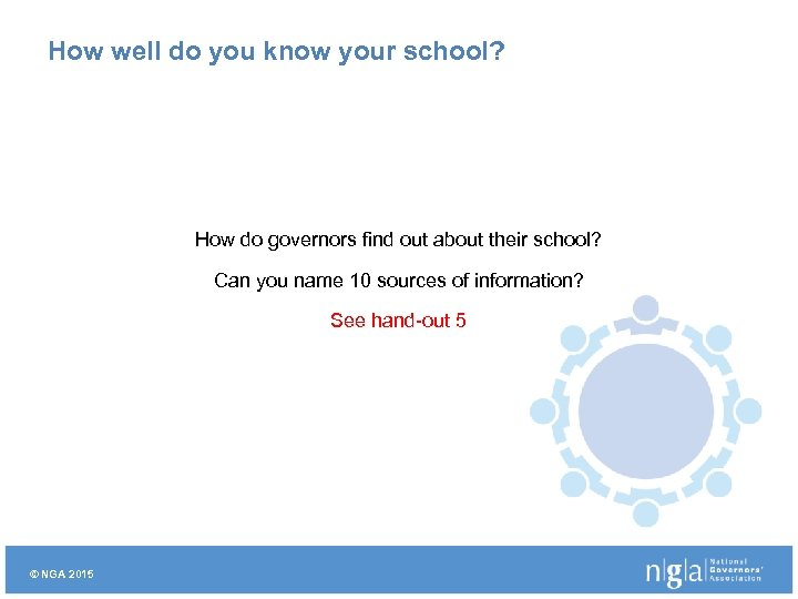 How well do you know your school? How do governors find out about their