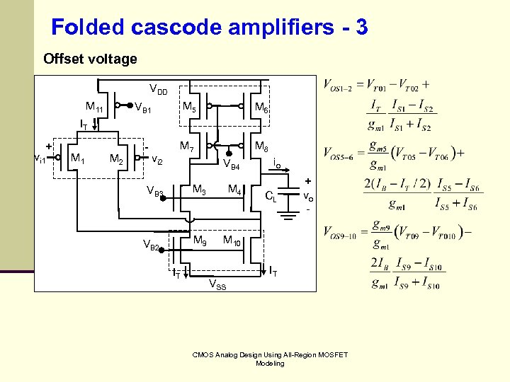 CMOS Analog Design Using All-Region MOSFET Modeling Chapter