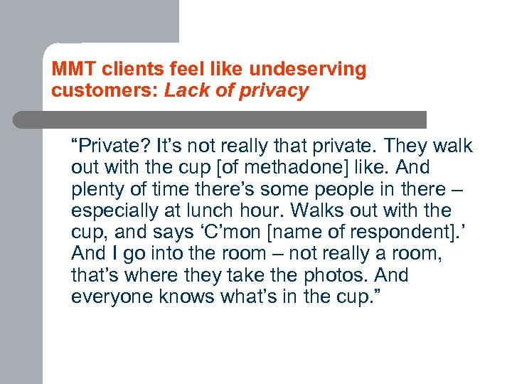 "MMT clients feel like undeserving customers: Lack of privacy ""Private? It's not really that"