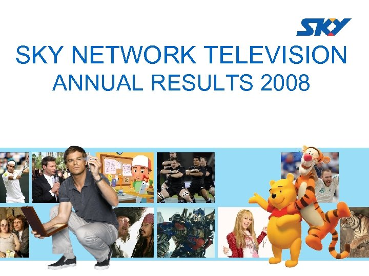 SKY NETWORK TELEVISION ANNUAL RESULTS 2008