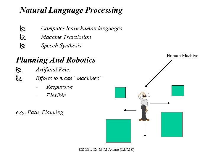 Natural Language Processing Ñ Ñ Ñ Computer learn human languages Machine Translation Speech Synthesis