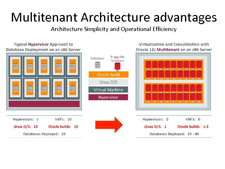 Multitenant Architecture advantages Architecture Simplicity and Operational Efficiency